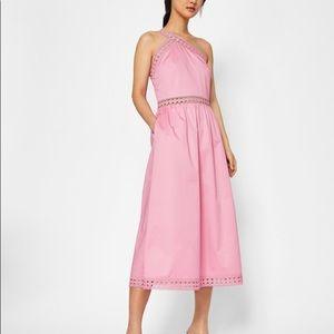 NWT Ted Baker KALLII Asymmetric Dress (UK 2; US 6)